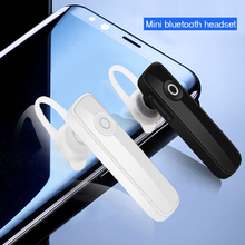 M165 מיני Bluetooth אוזניות סטריאו בס Bluetooth אוזניות דיבורית Earloop אלחוטי אפרכסת עם מיקרופון עבור כל טלפונים חכמים