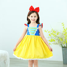 Malapina Girls Princess Dress Kids Ruffles Short Sleeve Birthday Party Dresses Children Clothes Outfits Summer Vestidos(China)