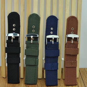 Watch Strap Military Army Nylon waterproof Wrist Band 18mm 20mm 22mm 24mm Replacement New
