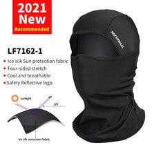ROCKBROS – masque facial de cyclisme, écharpe de pêche, cagoule coupe-vent, masque de Sport doux, couvre-chef de moto