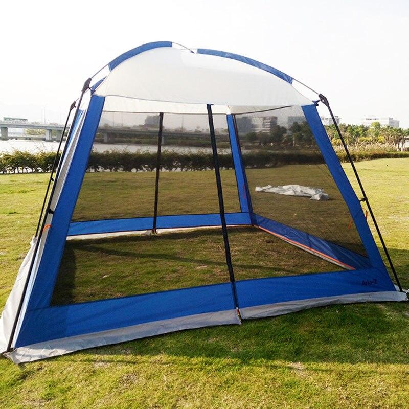 Outdoor Pergola Camping Sunshade Portable Folding Beach Canopy Rainproof Tent - 3