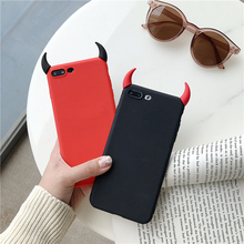 Soft TPU Case Ox Devil Horns Demon Angle Cover for Xiaoi Mi
