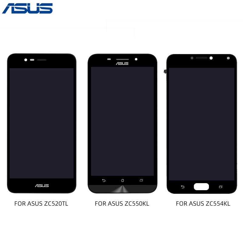 ASUS Zenfone ZC520TL ZC550KL ZC554KL ЖК дисплей сенсорный экран дигитайзер с рамкой панель в сборе