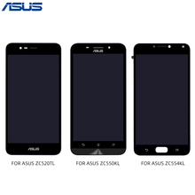 ASUS Zenfone ZC520TL ZC550KL ZC554KL LCD Display Touch Screen Digitizer With Frame Panel Assembly