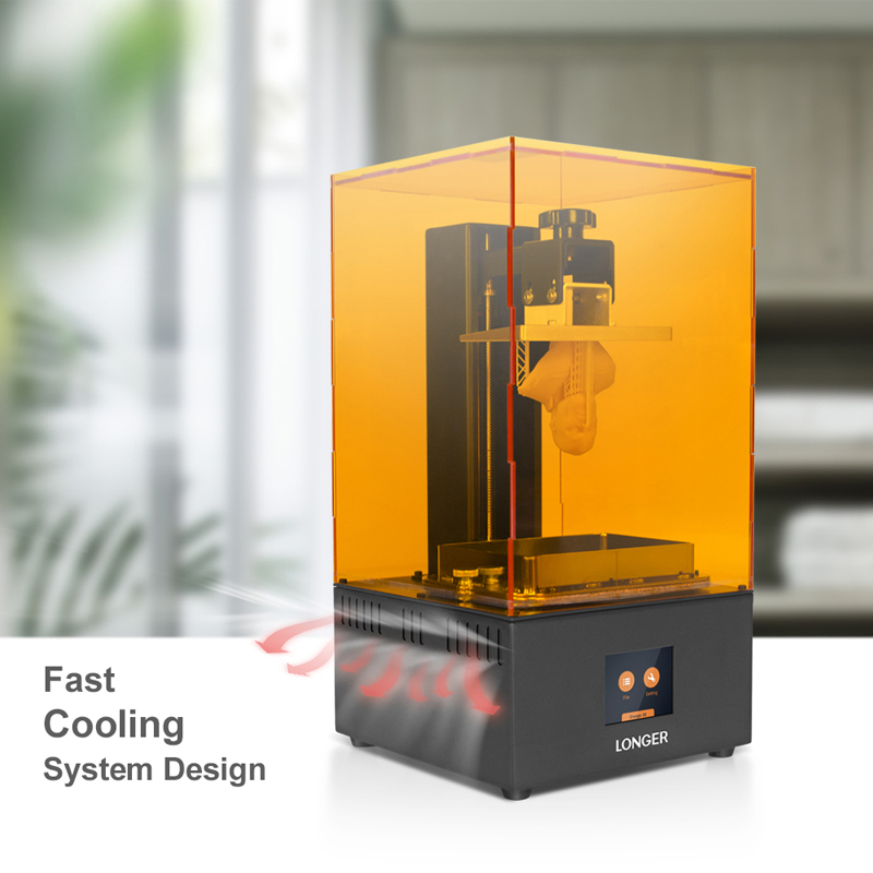 Longer Orange 30 High Precision SLA 3D Printer 2K LCD UV Resin Printers DIY Jewelry Dental Professional impresora 3d Drucker title=