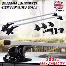 New Arrival 1 Set 1370mm Universal Car Top Roof Rack Cross Bar Luggage Cargo Carrier Kits for Car Exterior Parts все цены