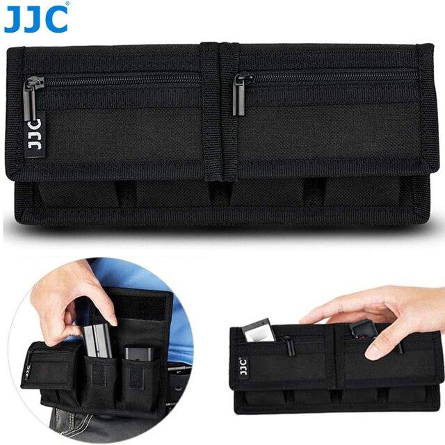 Batterie Pochette pour Carte Mémoire Sac De Rangement pour SD CF Cartes XQD pour Sony NP F550 NP FW50 NP FZ100 Canon LP E6 LP E8 LP E10 LP E12