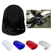Motorcycle Pillion Passenger Rear Seat Cowl Cover For Suzuki GSXR600 GSXR750 GSX-R 600 750 GSXR 600 K8 2008 2009 Black Blue Red motorcycle fairings for suzuki gsxr gsx r 600 750 gsxr600 gsxr750 2008 2009 2010 k8 abs plastic injection fairing bodywok kit sw