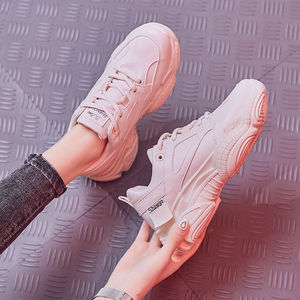 2019 new leather sneakers runn