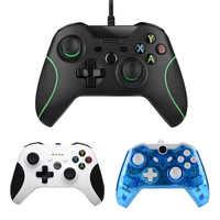 Controlador con cable de USB para Microsoft Xbox un controlador de PC Xone Joystick Gamepad Mando para Xbox uno Slim USB de la computadora de control