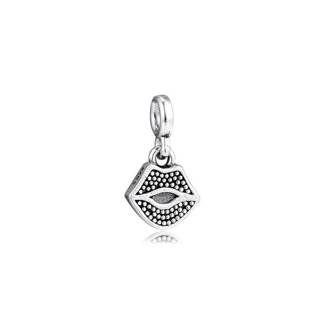 Me Collection oeil palmier abeille coeurs petites perles breloque pour Bracelets à chaîne mince 925 chaîne de sécurité en argent Sterling et broche broche