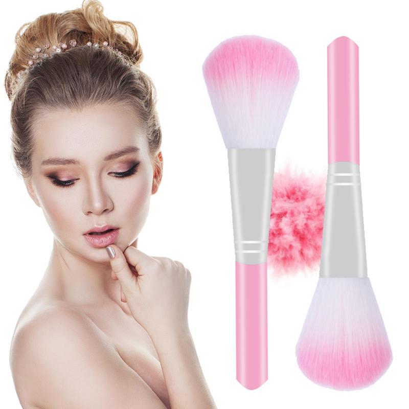 Pink Makeup Brushes 1Pc Eyeshadow Makeup Tools Blush Foundation Powder Blush Eyeshadow Concealer Lip Eye Makeup Brush TSLM1