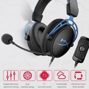 Image 2 - קינגסטון HyperX ענן אלפא S ענן E ספורט אוזניות עם מיקרופון למשחקי מחשב אוזניות