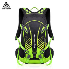 20L Waterproof Hydration Backpack,Night Reflrctive Mens Backpack,Breathable Hiking Camping Bags with Rain Cover