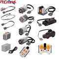 Технические детали для Lego Legoeds, силовые функции, детали, строительные блоки, Серводвигатель рулевого управления 2,4G, инфракрасный ИК-пульт ди...