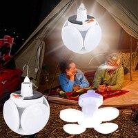 Lampa latarnia obozowa mocne oświetlenie słoneczne lub Usb