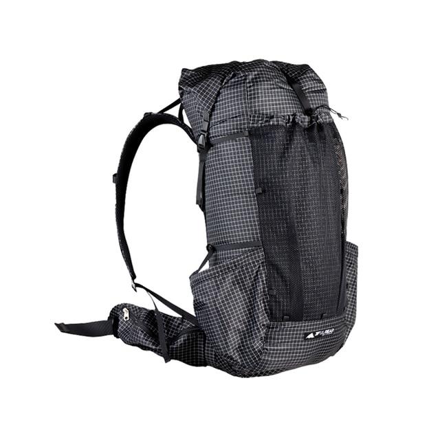 3F UL GEAR backpack Qi Dian pro Backpack Outdoor Frameless Packs 40+16 2