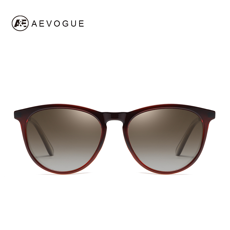 AEVOGUE New Women Polarized Korean Fashion Sunglasses Men Driving Retro Outdoor Glasses Brand Design UV400 AE0816 2