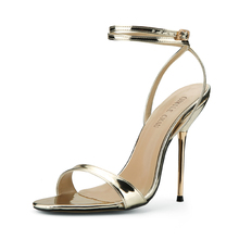 Summer New 11cm High Heeled Sandal Fashion Women Sandals Stiletto Thin heel Ankle Strap Open Toe Sexy Party Dress Lady Shoe 5-i2 цены онлайн