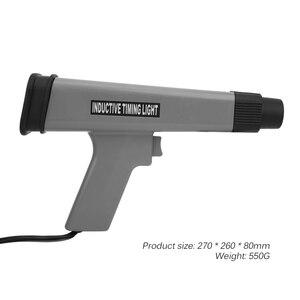 Image 5 - Luz de sincronización Digital para motor de coche, 12V, luz estroboscópica de sincronización de encendido, pantalla LED profesional, Detector de lámpara de sincronización inductivo