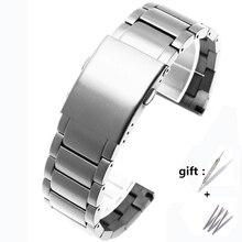 Ajuste diesel dz4316 dz7395 dz7305 dz7330 4358 relógio 24mm 26mm 28mm 30mm altura qualidade dever pulseira de aço inoxidável para pulseira masculina