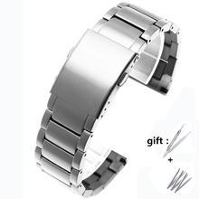 Fit diesel DZ4316 DZ7395 DZ7305 DZ7330 4358 watch 24mm 26mm 28mm 30mm hight quality duty stainless steel strap for men watchband