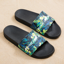 Male Sandals Women Shoes Flip-Flops Beach-Slippers Non-Slip Men's Summer Indoor House