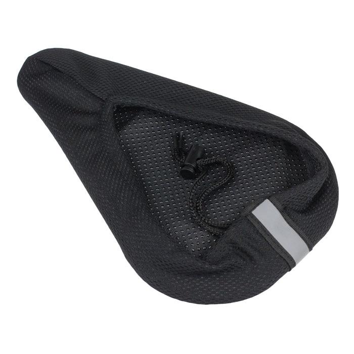 28cm X 17cm Cycling Bike 3D Silicone Gel Pad Black Seat Saddle Cover Soft Cushion Black High Quality Slow Play Silicone Dropship