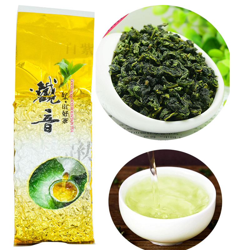 250g China Anxi Tiekuanyin Oolong Tea Fresh 1275 Organic Tea For Weight Loss Tea Health Care Beauty Green Food
