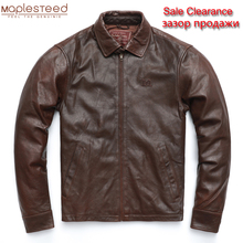 Jacket Men Sheepskin CLEARANCE Genuine-Leather Autumn SALE Spring M503 Man 100%Natural