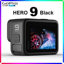 GoPro HERO 9 – caméra d'action étanche noire, écrans tactiles 5K, vidéo Ultra HD, Photos 20mp, 1080p, Streaming en direct, stabilisation du Sport