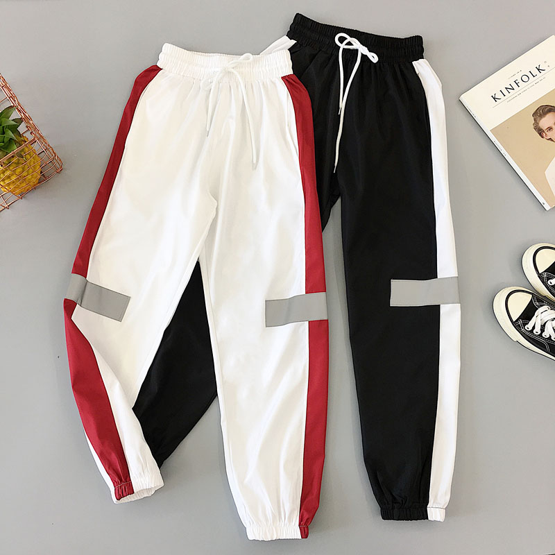 Track Pants Harem Trousers Sports Exercise Pants Fashion Korean Style Clothes Womens Aesthetic Pant 2020 New Joggers For Ladies
