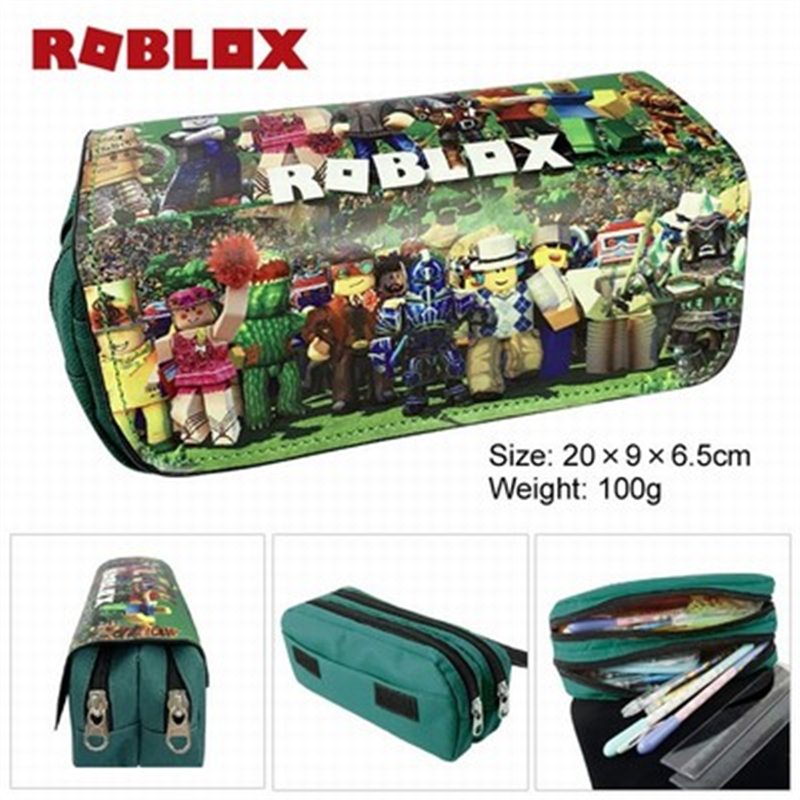 High Quality Cartoon Bag Children Back To School Supplies Cosmetic Boys Girls Stationary Kids Roblox Pencil Case Bags
