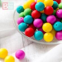 30Pc 14mm Silicone Bead Baby Teether BPA Free Silicone Hexagon Teething Bead DIY