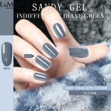 1 pc IDO NEW arrival Sandy gel glitter colorful series UV led nail gel soak off gel polish brand nail gel nail polish
