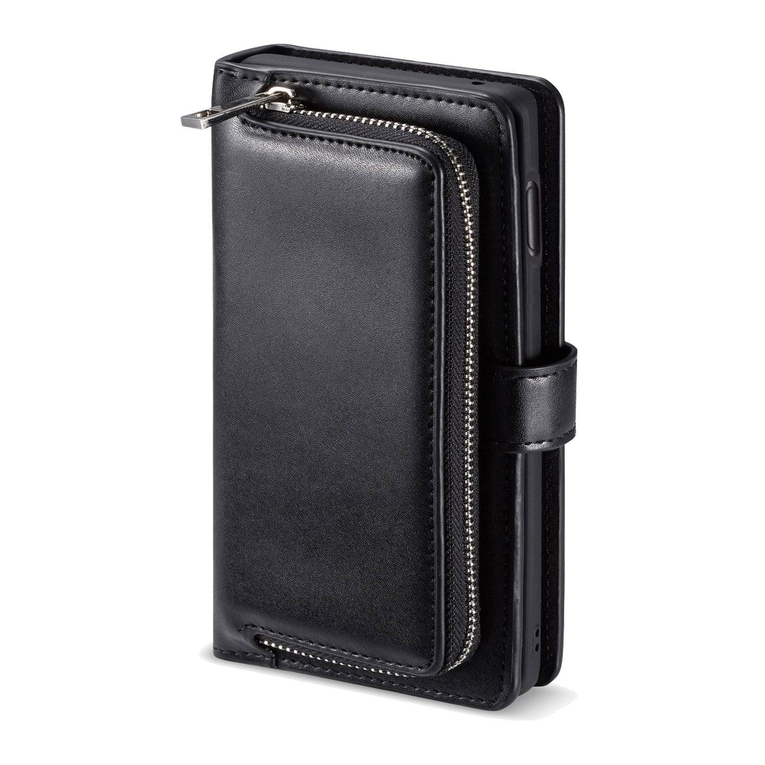 Luxury Leather Case For <font><b>Samsung</b></font> Galaxy S8 S9 <font><b>S10</b></font> Plus S7 Edge Wallet Case <font><b>Flip</b></font> Magnet Phone <font><b>Cover</b></font> with Zipper Pocket image