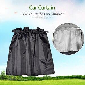Image 2 - 2 pièces voiture rideau pare soleil fille voiture accessoires décoration maison tableau de bord suspendu pendentif Auto intérieur accessoire