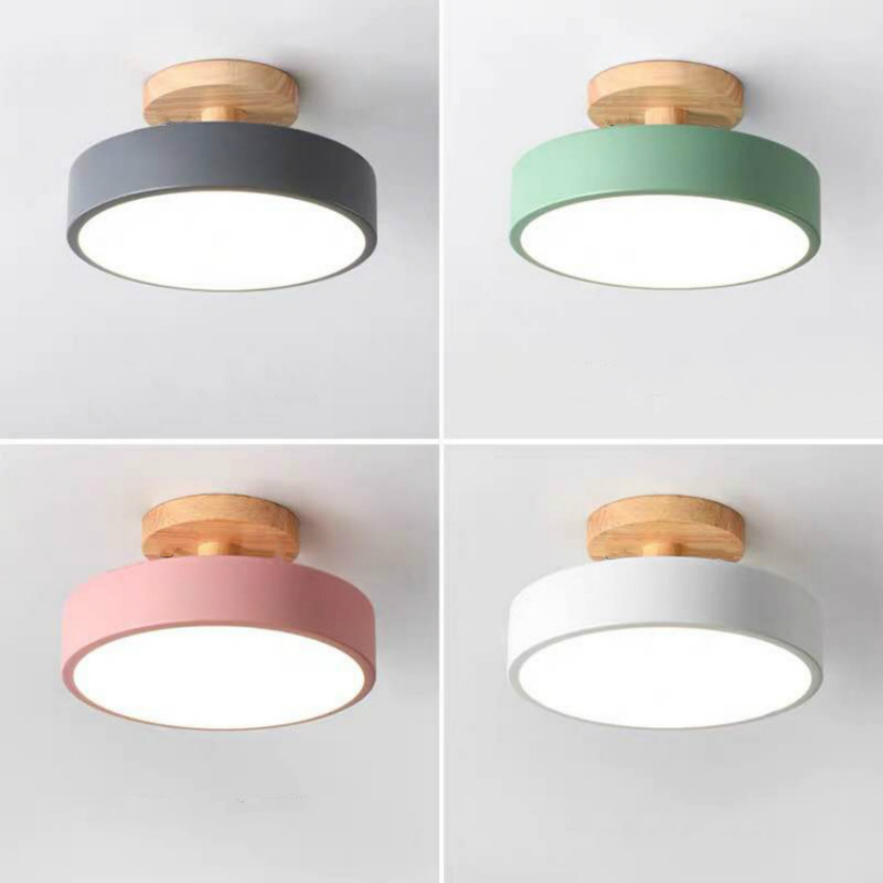 Ceiling Lights Modern Led Nordic Wood Lighting Fixture Indoor Luminaire Kitchen Living Bedroom Bathroom Lights Home Decor Lamps