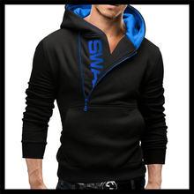 Новинка Осень зима мужской тонкий пуловер с буквенным принтом