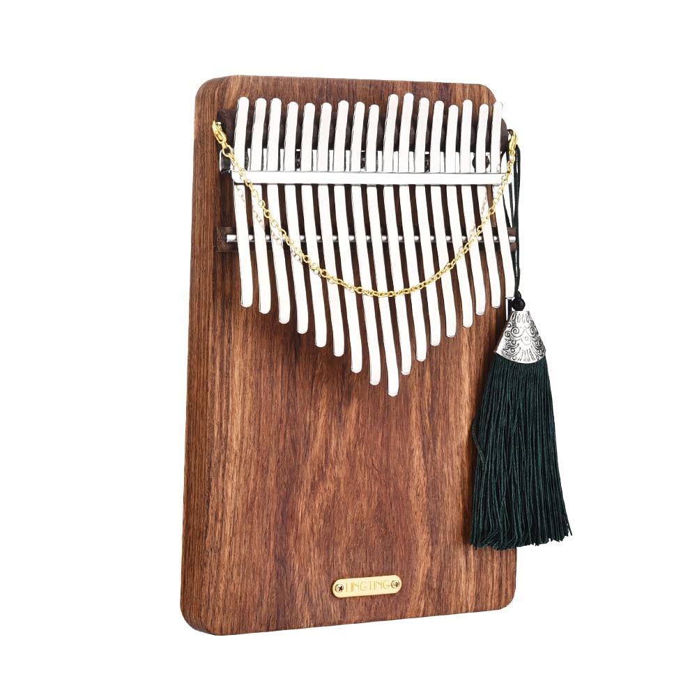 LingTing 17 Keys Kalimba Mbira Thumb Piano(Listen To The Sea)
