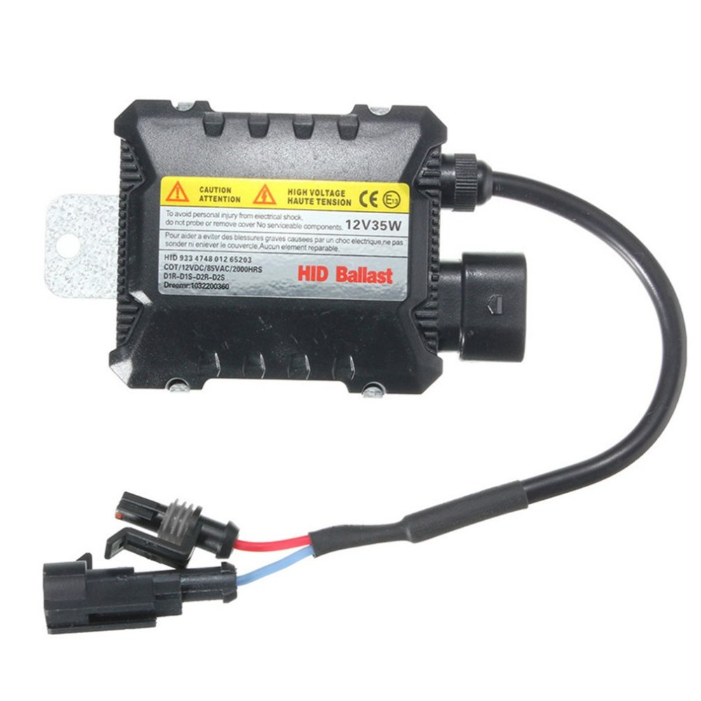 12V Universal Xenon HID Replacement Conversion Kit Digital DC Ballast For Truck Bus Offroad Tractor Easy Installation 35W-55W