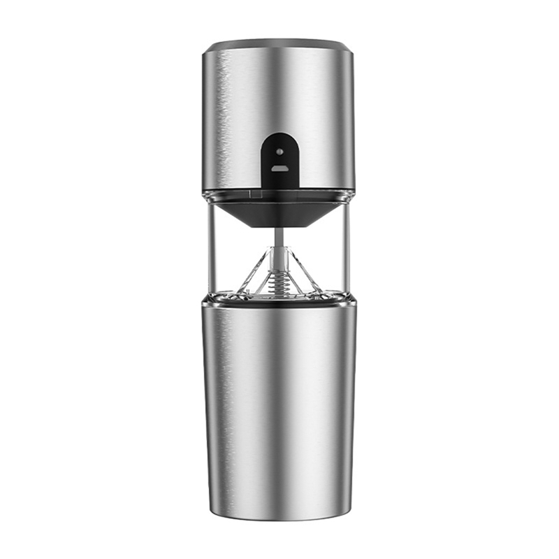 Portable Coffee Maker With Grinder And Filter, USB Rechargeable Electric Coffee Maker Machine