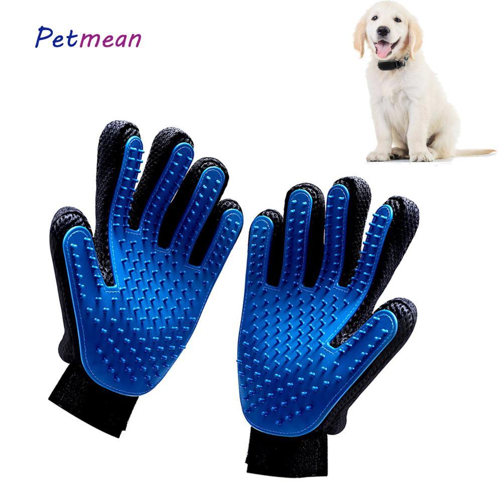 Профессиональная очистка и красота от перхоти для домашних собак и кошек, массажная расческа для мытья волос, расческа для купания, силиконовые сетчатые перчатки|Расческа для животных|   | АлиЭкспресс