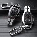 Автомобильный чехол для ключей  брелок для Mercedes Benz W203 W210 W211 W124 W202 W204 W212 W176 AMG GLC 260 C200 CLA GLA 200  автомобильные аксессуары