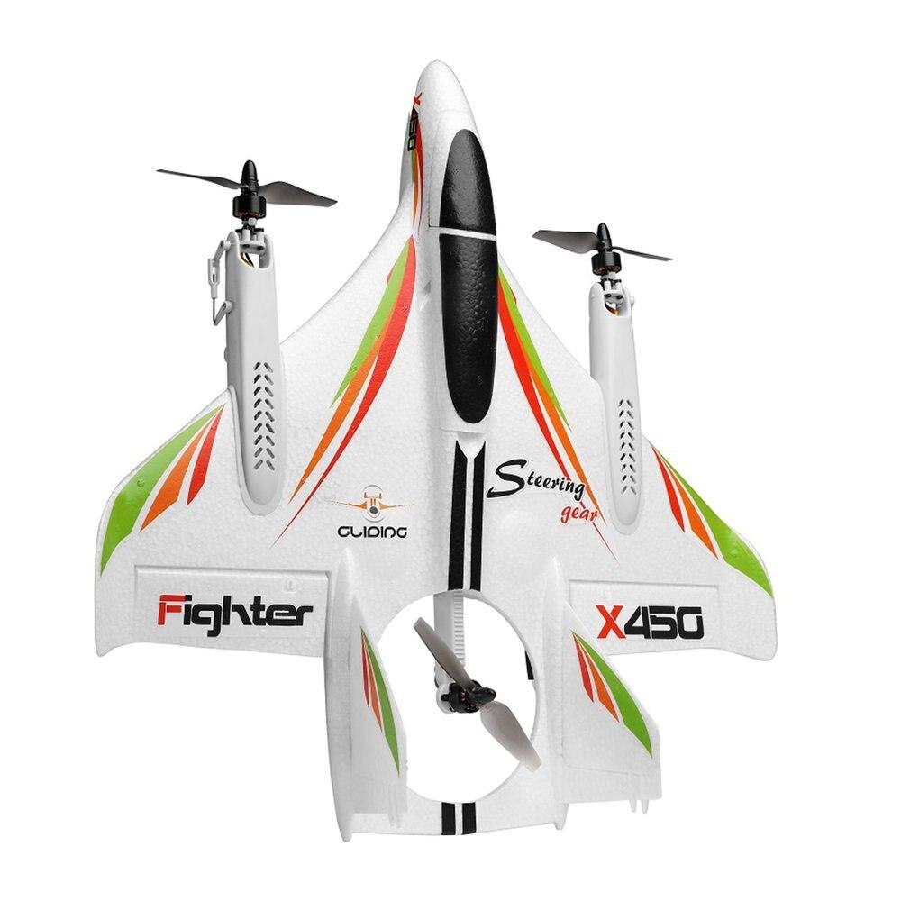 XK X450 3D voltige RC avion 6 canaux télécommande verticale décollage atterrissage avion à aile fixe hélicoptère jouets Drone