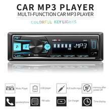 1 din автомобильный радио мультимедиа Голосовое управление плеер