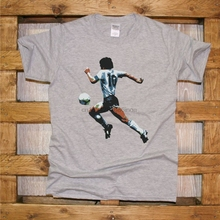 Football T-Shirt Maradona Napoli 10-Mano Cool Life Fashion Casual Ultras J377 Dios Maglia