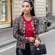 2019 New Fashion Women'S Black Sequins Jacket Long-Sleeved B