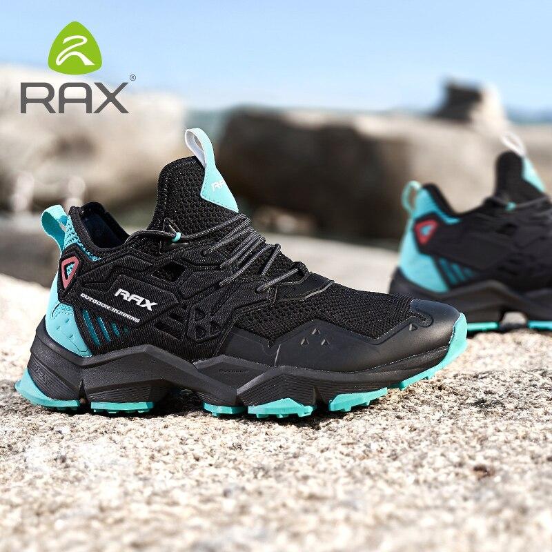 Rax мужские походные ботинки весна зима сапоги охотничьи дышащие, для активного отдыха и спорта кроссовки для мужчин Легковесный горный трек...