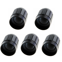 5Pcs Adjustable Turn Rotary Knob for 6mm D Shaft Potentiometer